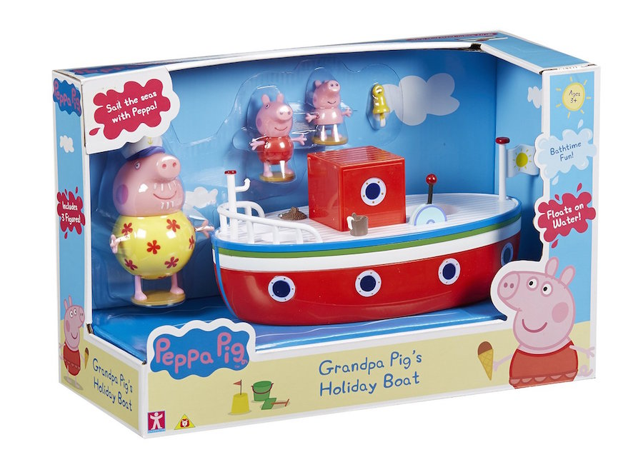 Peppa Pig Grampa Pig's Holiday Boat
