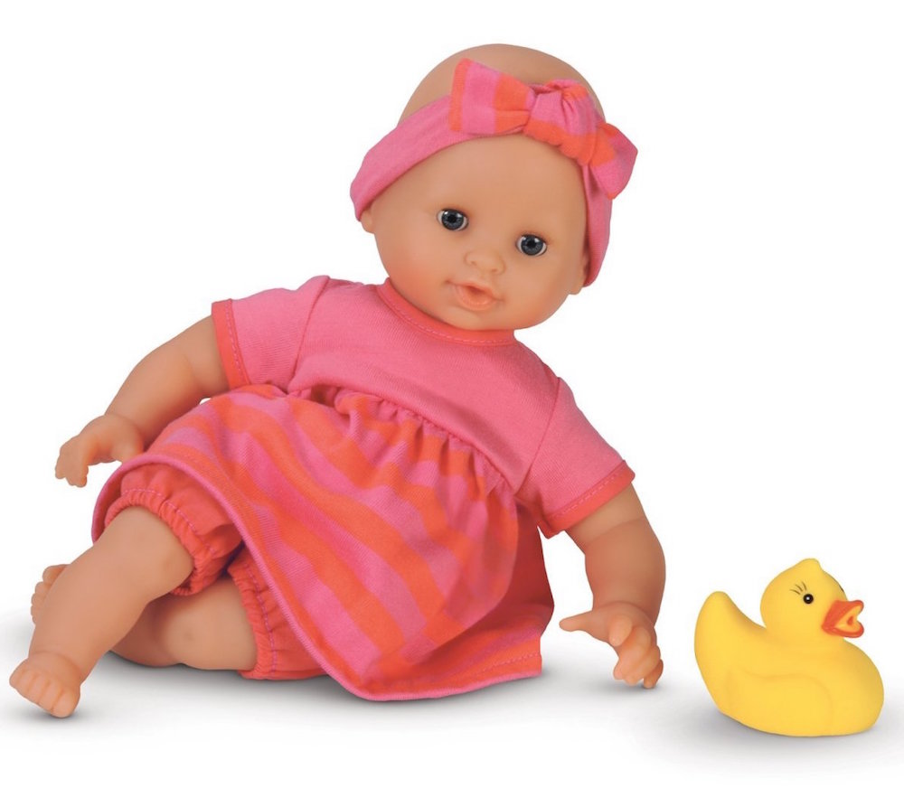 bath time baby doll