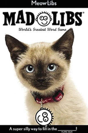 baby shower prizes mad libs cat