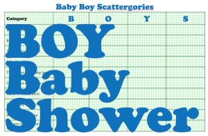 boy free baby shower game