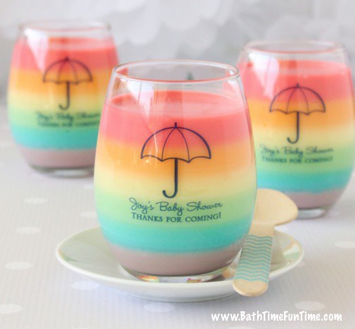 These beautiful baby shower favors are thoughtful keepsakes, but lucky for you, these baby shower favors double as baby shower party decorations too!! The best part? You can completely design them with baby shower themed wording, colors & pictures. These baby shower favors make gorgeous gifts that will definitely be used again & again. Come see this & more baby shower ideas here: www.bathtimefuntime.com/baby-shower-favors