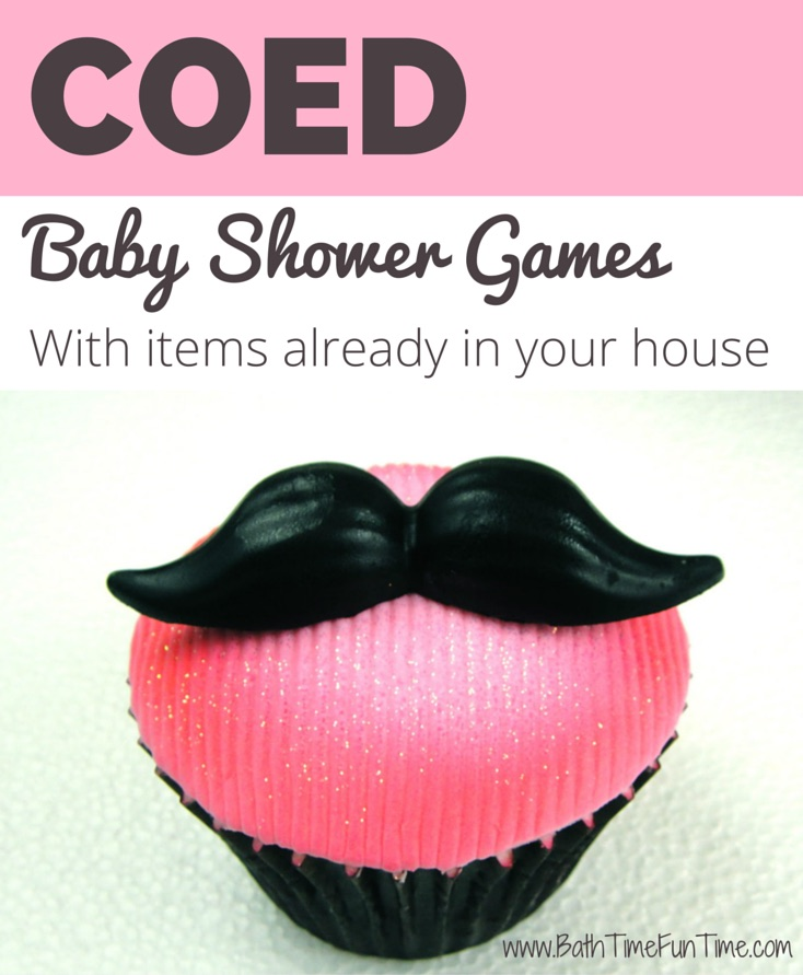 Planning a coed baby shower? Make sure to include at least one game with men in mind, so they have fun too. Sometimes you need a good game or two to break the ice. Warning: these games can be messy, so let the ladies sit back and enjoy watching the men mildly embarrass themselves in the name of friendly competition! They are inexpensive baby shower games too – most you can play with items you have in the house already! http://www.bathtimefuntime.com/best-coed-baby-shower-games