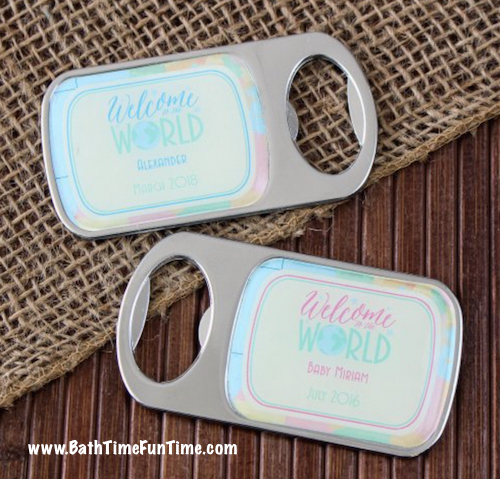 these cool baby shower favors are baby shower favors that double as baby shower party decorations
