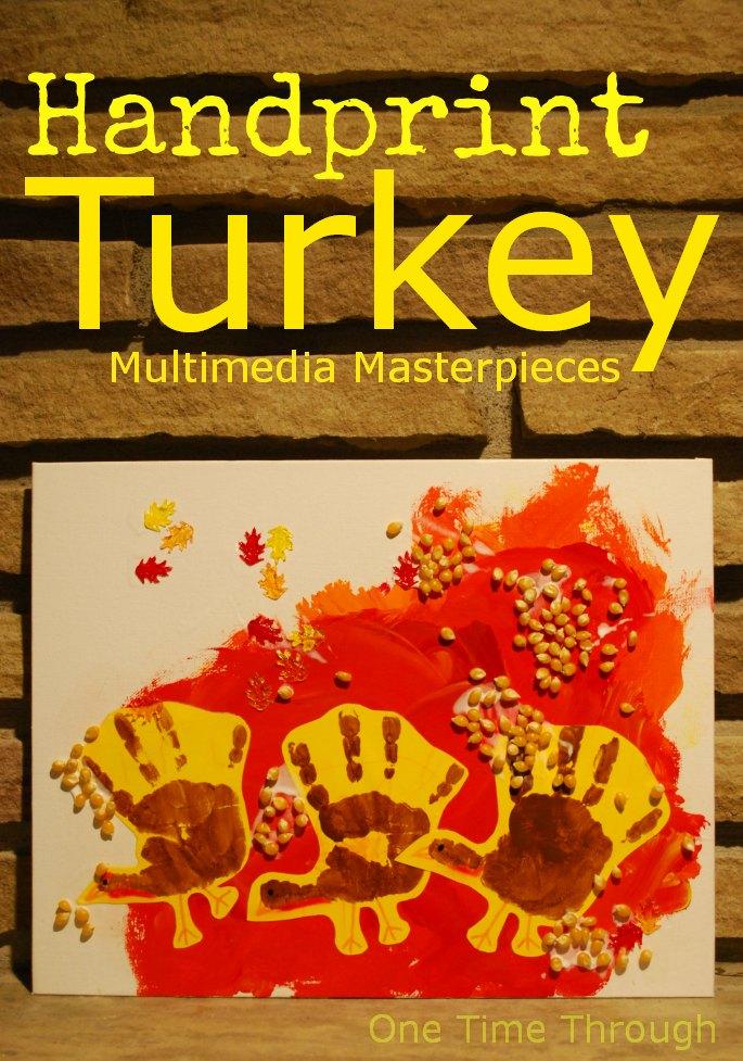 Handprint-Turkey-Multimedia-Masterpieces-One-Time-ThroughS