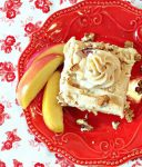 Easy Apple Spice Cake + Party