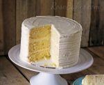 White Sour Cream Cake & Party