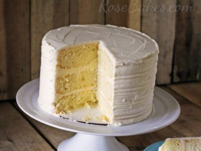 white-sour-cream-cake