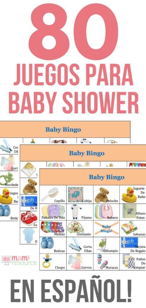 Juegos Para Baby Shower Para Imprimir #JuegosParaBabyShower