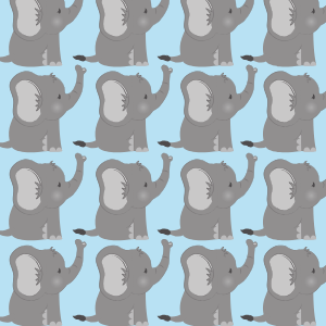 80 Baby Bingo Elephant Baby Shower Printables