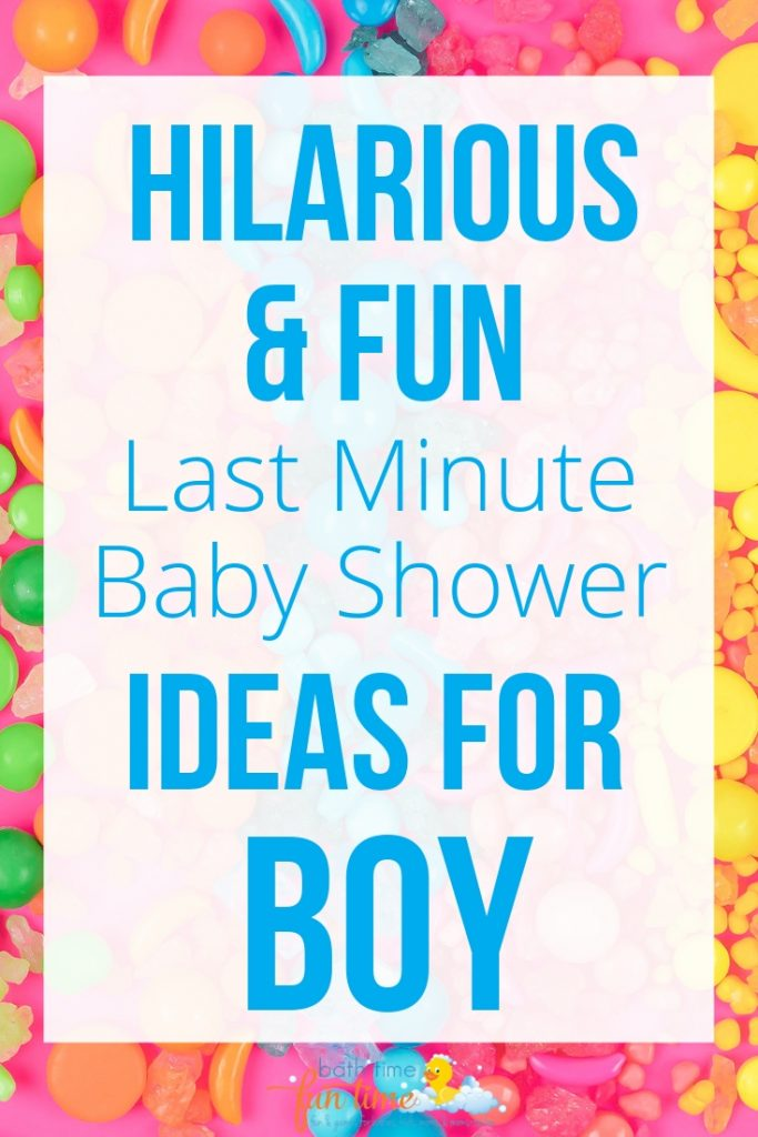 last minute baby shower ideas fun - Looking for last minute baby shower ideas for boys? These are 22 of the best last minute baby shower ideas - simple & fun so you have a perfect baby shower!