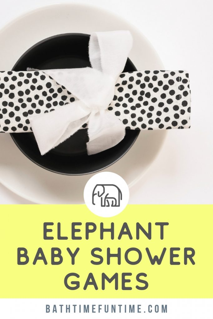 These elephant baby shower games are great fun & easy to play. Your elephant baby shower theme will be complete with these games for baby showers with printables for up to 80 guests.