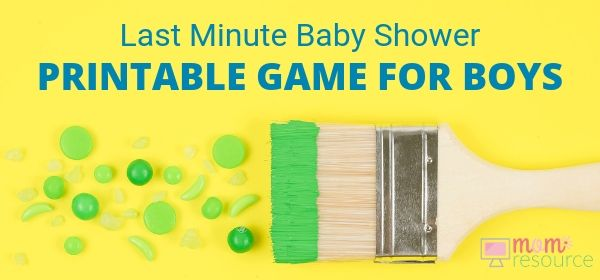 Looking for last minute baby shower ideas for boys? These are 22 of the best last minute baby shower ideas - simple & fun so you have a perfect baby shower!