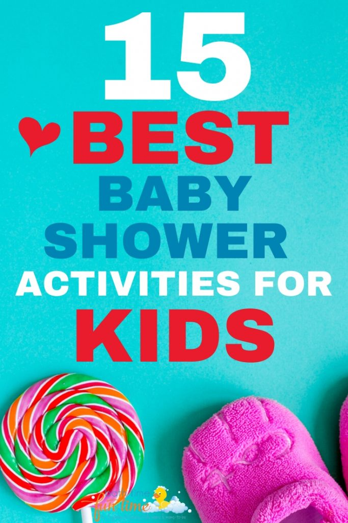 baby shower activities for kids