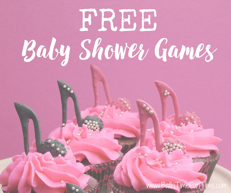 Use our FREE printable baby shower games for your shower! We offer each baby shower game for you to print for a boy, a girl or a gender neutral baby shower. https://www.bathtimefuntime.com/free-baby-shower-games/