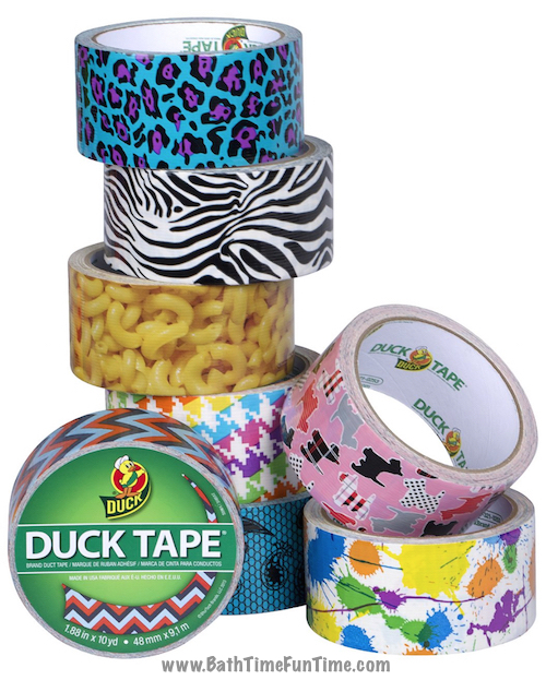 baby shower prize duct tape