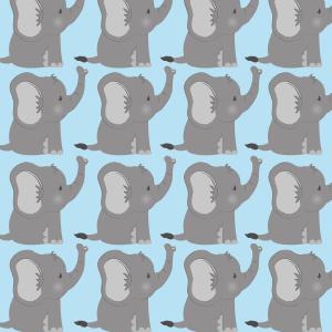 baby bingo cards elephant