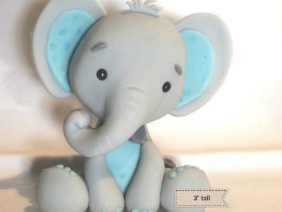 elephant baby shower cakes