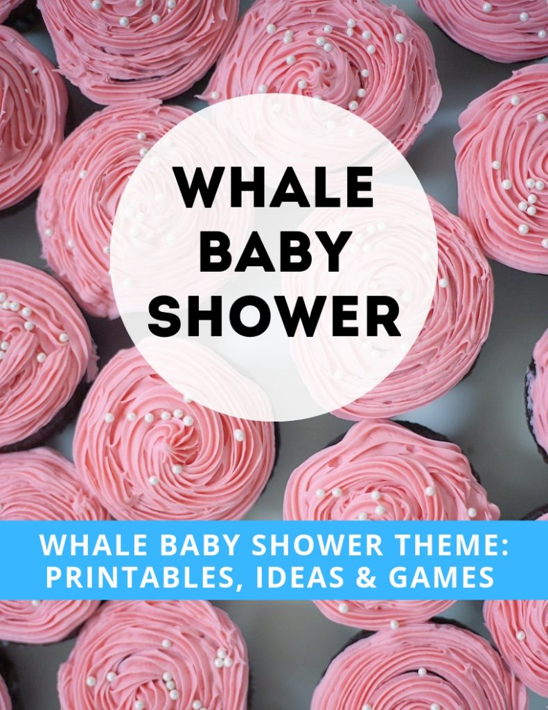 whale baby shower games etsy
