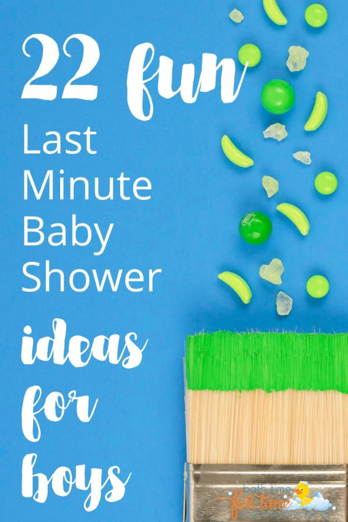 last minute baby shower ideas for boys - Looking for last minute baby shower ideas for boys? These are 22 of the best last minute baby shower ideas - simple & fun so you have a perfect baby shower!